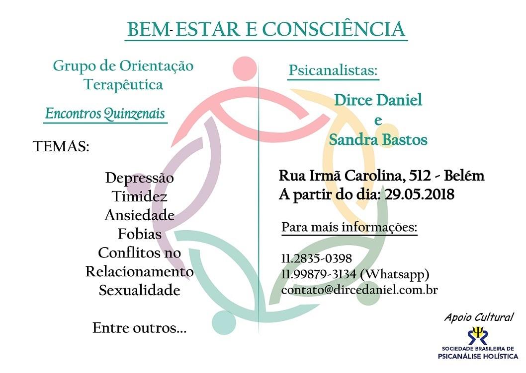 Cartaz - Grupo Terapeutico