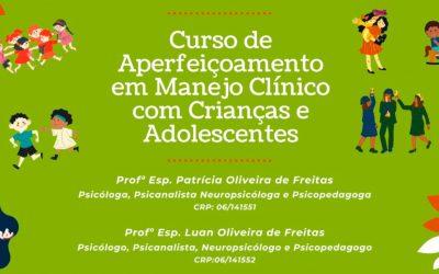 Curso de Aperfeiçoamento em Manejo Clínico com Crianças e Adolescentes